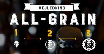 Trin for trin vejledning til all-grain ølbrygning